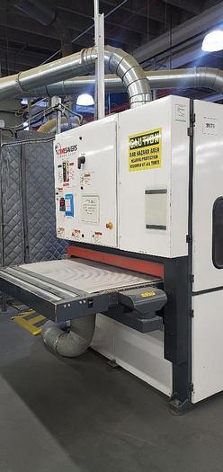 Used 2012 TIMESAVER 2200 SERIES ROTARY BRUSH DEBURRING MACHINE