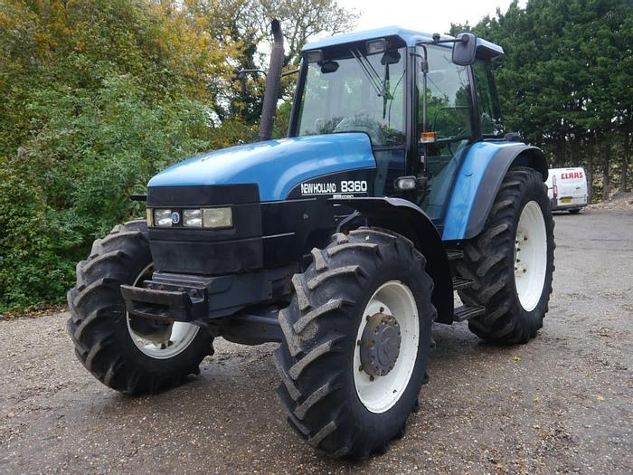 Used New Holland 8360 4wd Tractor