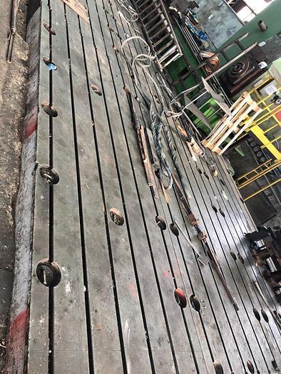 Floor plates 4200x1500x350mm  9pcs