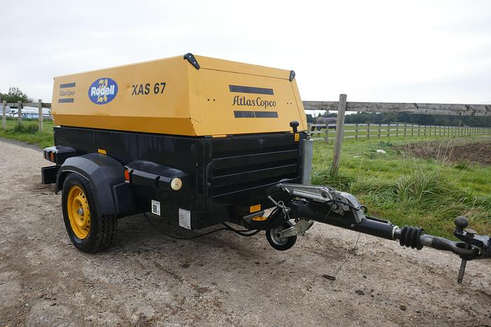 Used 2005 ATLAS COPCO XAS67DD EURO BOX