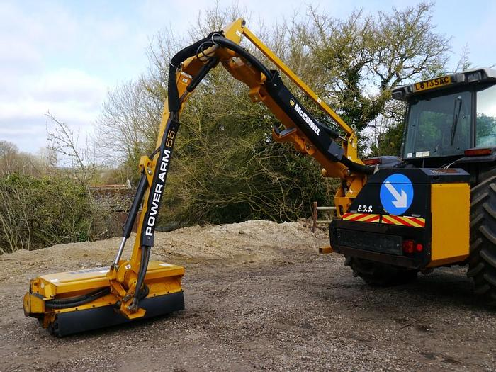 Used McConnel PA55 Hedge Cutter