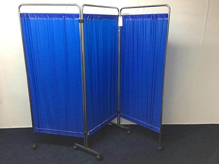Gb medical  3 panel partition screen