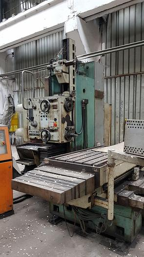 Used Tos Hulín FKH 80 milling machine