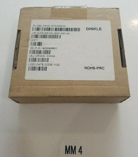*NEW IN BOX* DINKLE E1-3470-0002-0