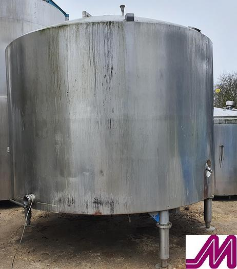 Used 11,000 Litre Stainless Steel Insulated Tank
