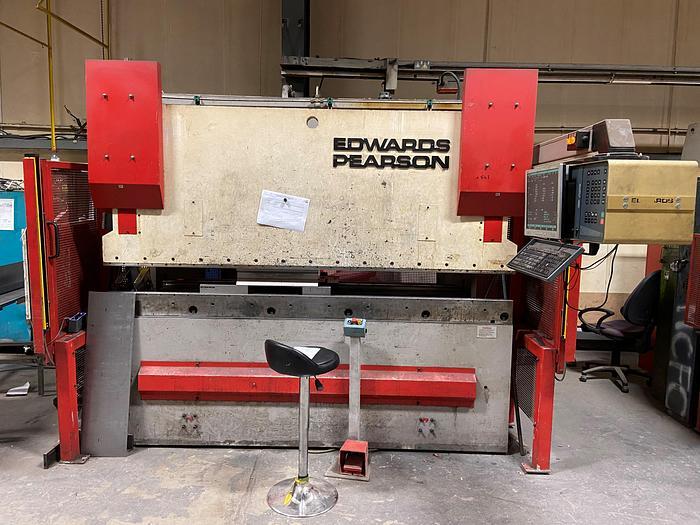 Used EDWARDS PEARSON PR6 6 axis 2.5m x 60 ton Press brake