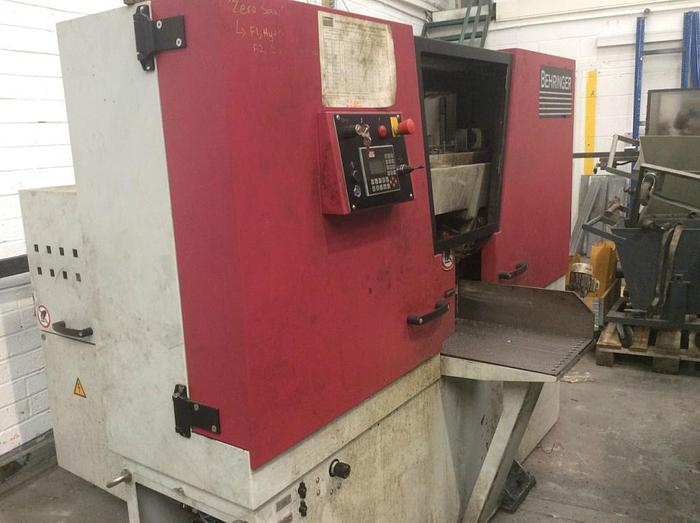 Used 2014 Behringer HBE 261A Automatic Bandsaw