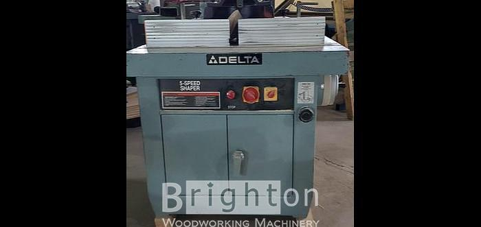 Used Delta Used Shaper, Model 43-796