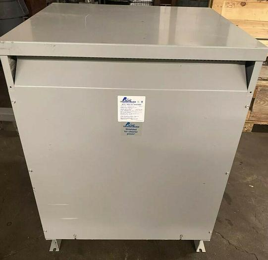 Used Acme Drive Isolation Transformer DTGB-0175-4S Pri 460 Delta Sec 460y/266v