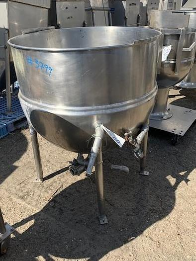 Used Dover - Groen 100 Gallon Stainless Steel Jacketed Steam Kettle