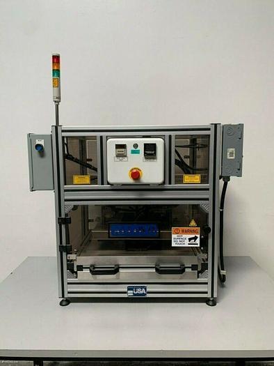 Used Alloyd 1SM1216 Shuttle Style Blister Heat Sealer 230 V