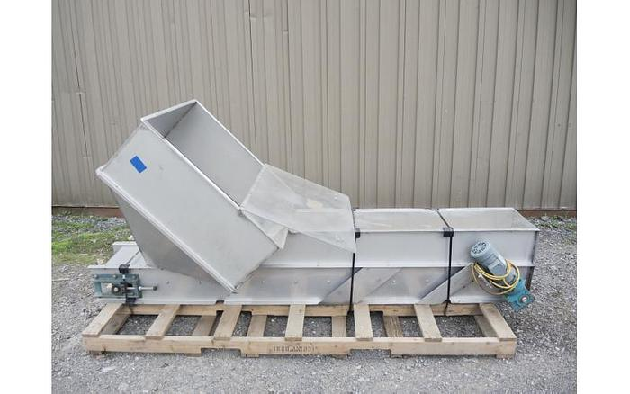 "USED BELT CONVEYOR, 12"" WIDE X 72"" LONG"