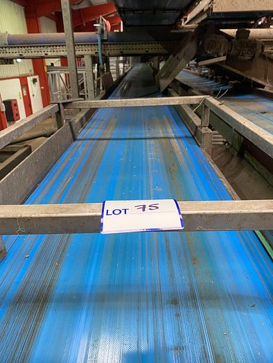 Used Steel Conveyor belt 20m L 0.7m W  - lift out charge £200