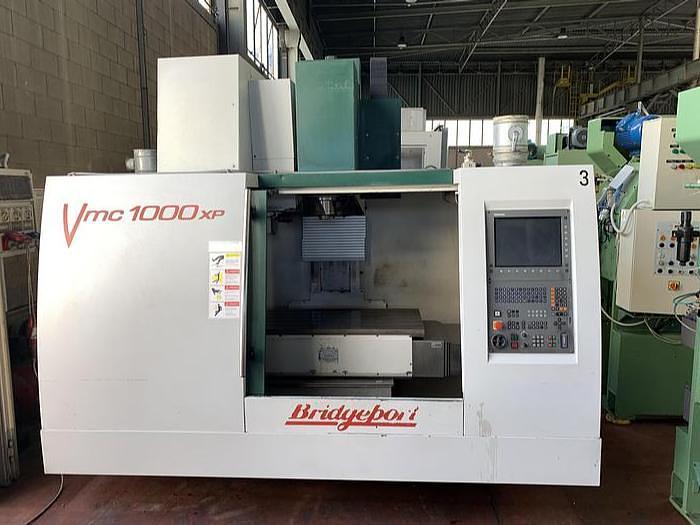 Ottime Centro di Lavoro Verticale BRIDGEPORT VMC 1000 XP