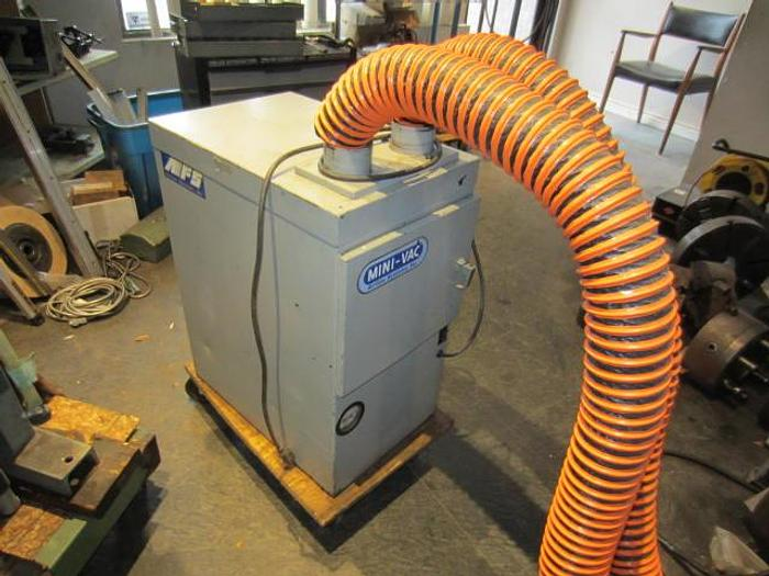 Used Air Flow systems Mini-Vac Air Filtration System