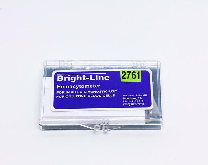 Hausser Scientific Brightline Hemacytometer, New (2761)