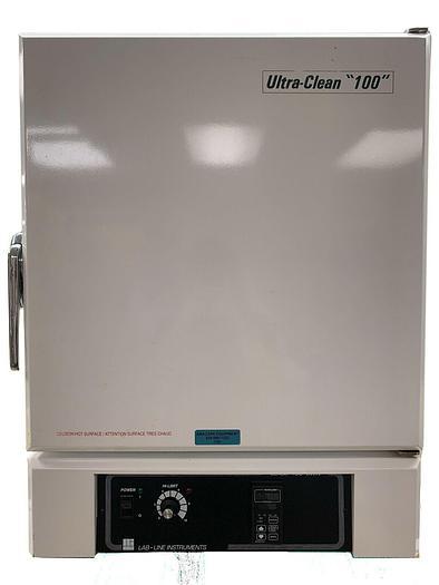 Used Barnstead Lab-Line 3495M-3 399420 Ultra-Clean 100 Oven w/ 2 Shelves 208V (7107 R