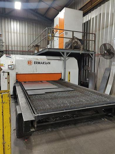 Used 8000 Watt Ermak Fibermak G-Force Fiber Laser Cutting Machine