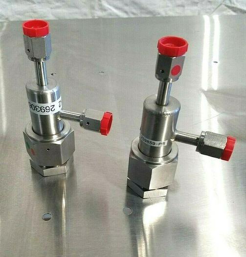 Used Panametrics Electronic Stainless Steel Valve 259859 PR & 269306 PR NEW!!!