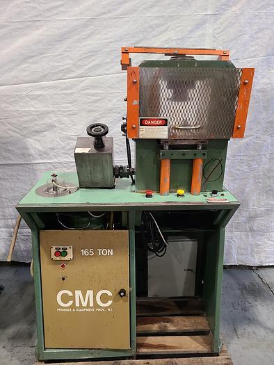 Used CMC 165 Ton Hydraulic Coining Press Hobbing Gold Silver in pristine condition! CMC 165