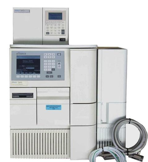 Used Waters 2695 Separations Module HPLC w/ 2475 Multi λ Fluorescence Detector (7255)