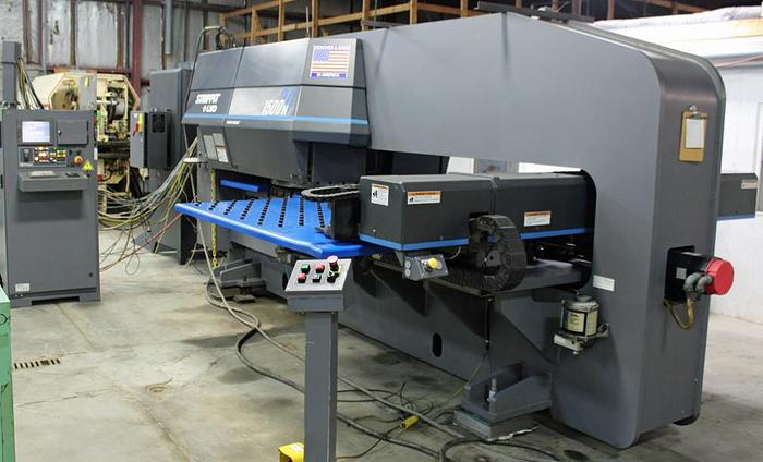 Used 33 Ton Strippit 1500H/30 CNC Turret Punch