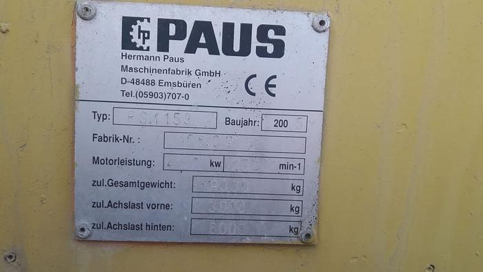 2005 PAUS PSM153