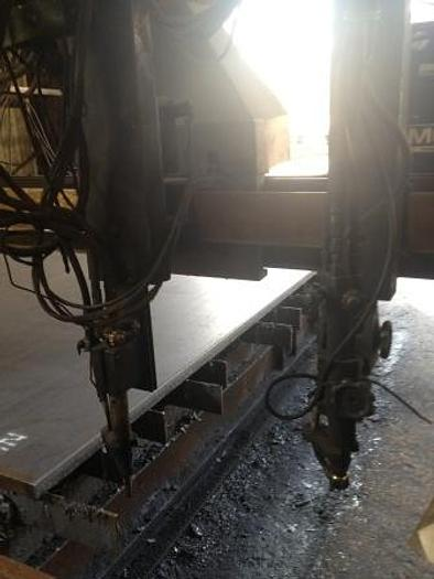 MG 12' x 24', 4 Oxy Torches, MG Systems 80 CNC