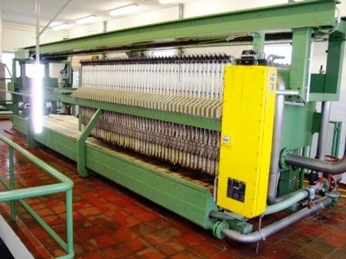 Used NETZSCH chamber filter press.