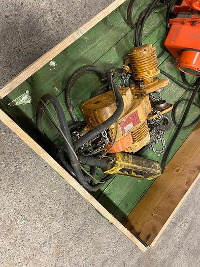 Used Sweden, Hoist 500 kg