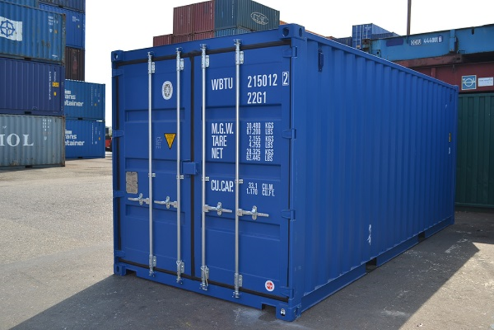 "20 'Container 8'6 ""Wooden floor"