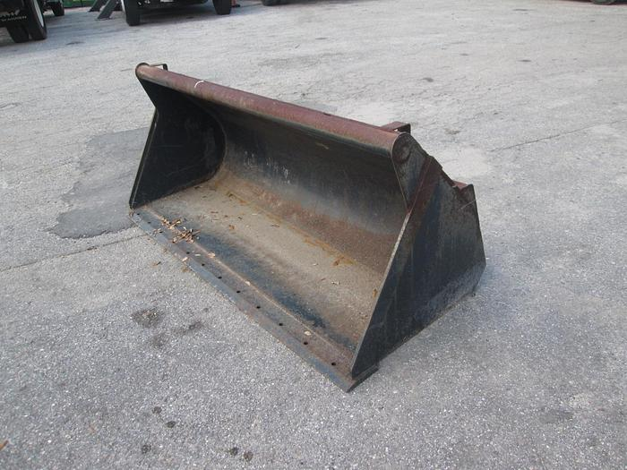 """Used 72"""" Heavy Duty Skid Steer Bucket"""
