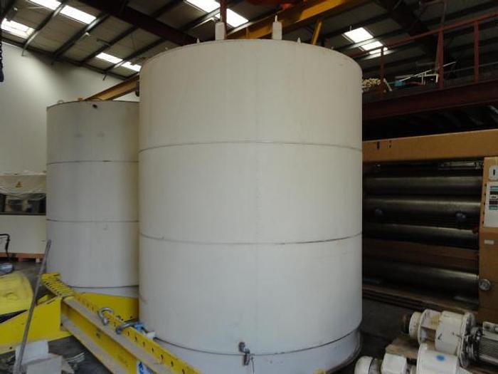 Used 20T chocolate tanks - mild steel