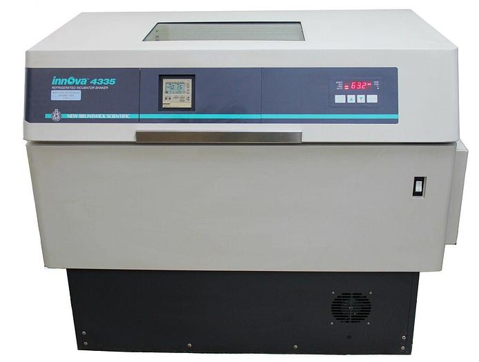 Used New Brunswick InnOva 4335 Refrigerated Incubator Shaker, 120V, 50/60Hz (8099)W