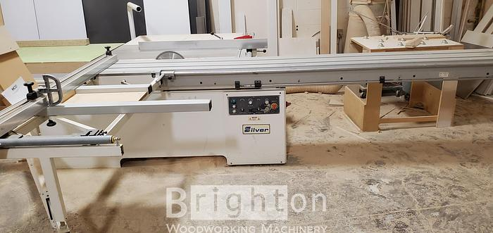 Used 2015 Silver SF-45A, used Sliding table Saw