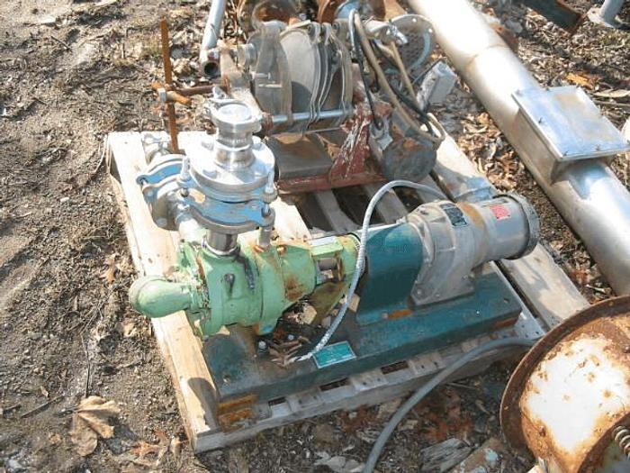Used VIKING 2 IN. POSITIVE DISPLACEMENT ROTARY VANE PUMP – S/S