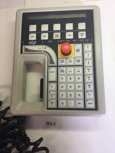 Used Adept Technology 10332-11000 REV A Manual Control III Operator