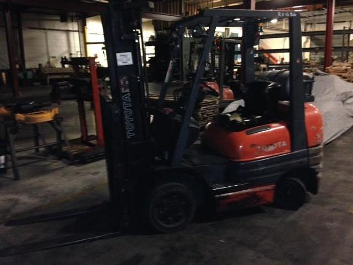 Used 5,000 lbs.Toyota LP Lift Truck