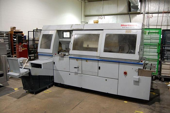 Used Horizon BQ 470 2008 EVA Capabilities Perfect Binder