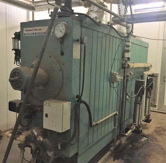 2007 CLEAVER BROOKES - Water tube Steam Boiler M4HP-6000 SERIES 700