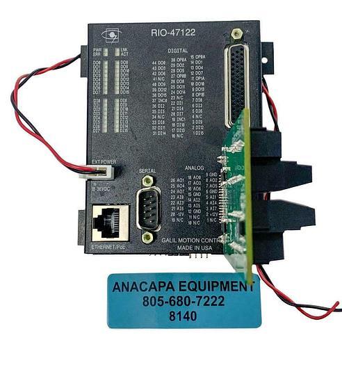 Used Galil Motion Control RIO-47122 I/O Controller W/ SCB-48306 Interface Board (8140