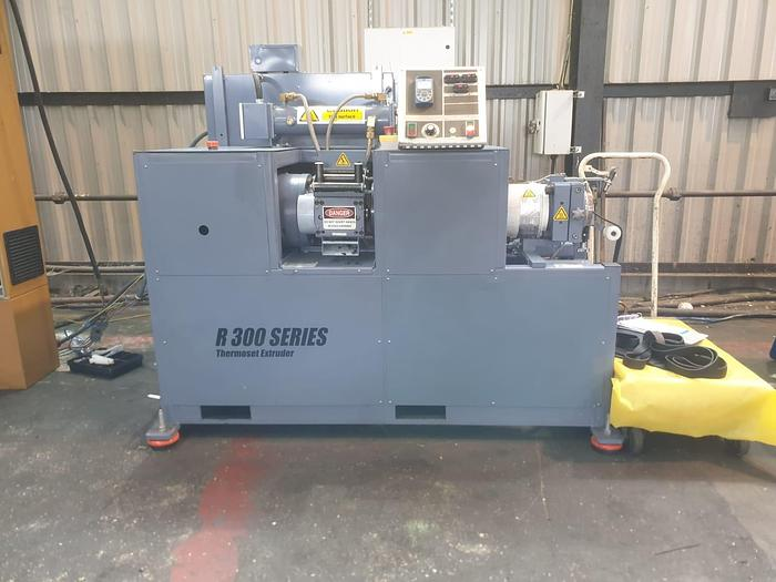 Used 2013 Remco R300 76mm dia Coldfeed Rubber Extruder