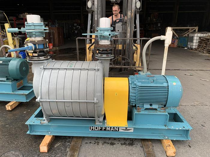 Used HOFFMAN  MDL. 4208A CENTRIFUGAL BLOWER  BALDOR RELIANCE 40 HP