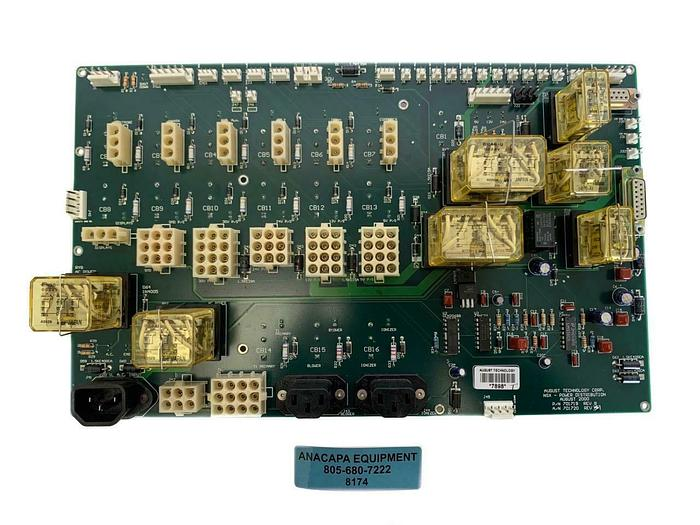 Used August Technology 701719 NSX - Power Distribution Board (8174)W