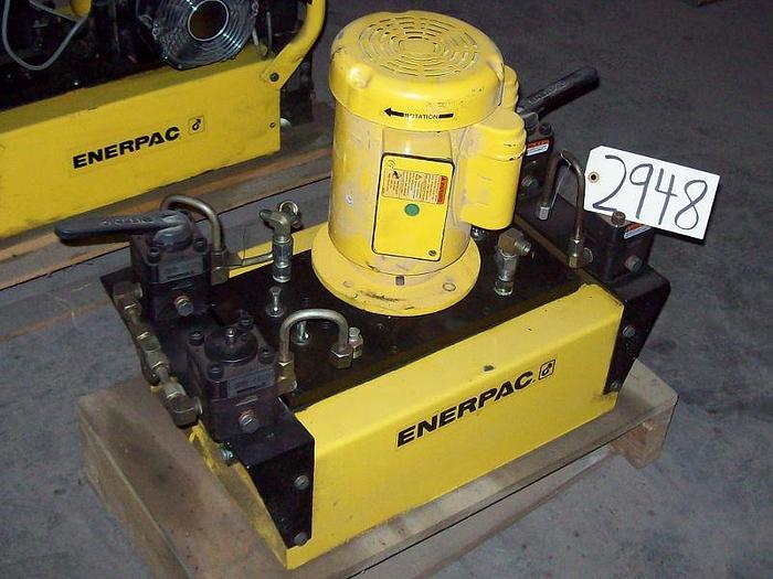 Enerpac Model GPER 5320WSNE100 Hydraulic Unit