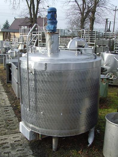 Used Zbiornik procesowy 1000 l