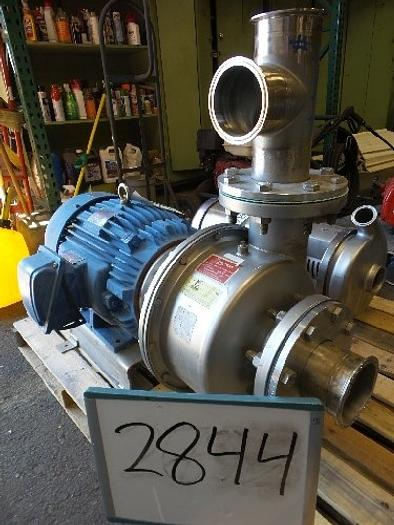 Used 4'' x 4'' Centrifugal stainless steel pump #2844