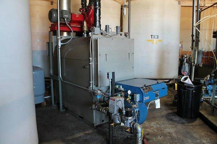 Used 3 million BTU boiler