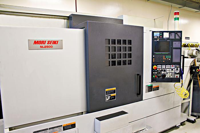 Used  Mori Seiki NL 2500 - 2006