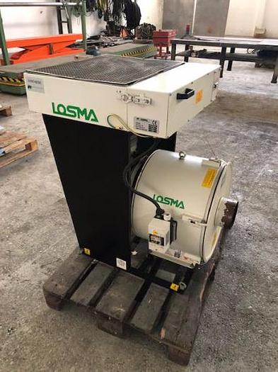 Usata Aspiratore centrifugo con filtro statico LOSMA